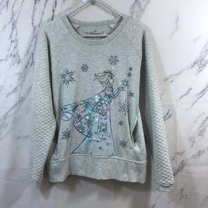 Disneyland Paris  Frozen Elsa Embellished Sweater